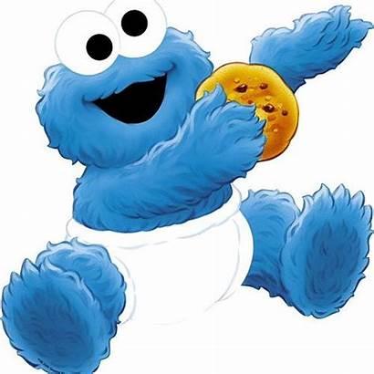 Cookie Monster Clipart Clip Sesame Street Birthday