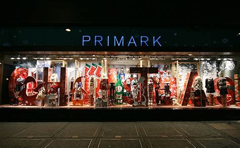 primark christmas shop windows london retail design blog