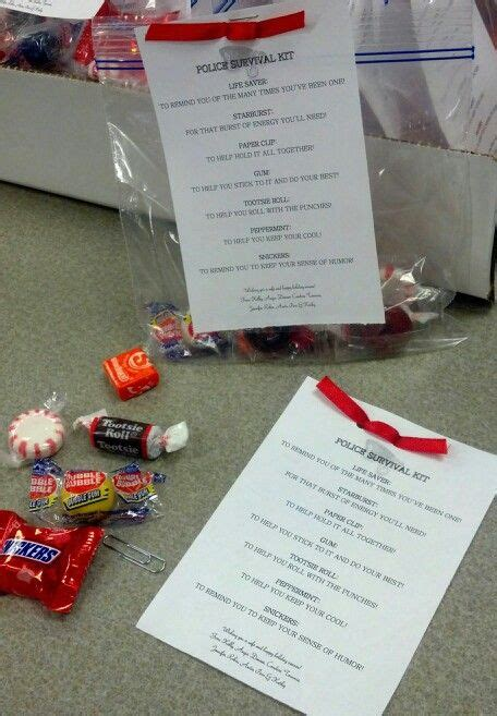Police Survival Kit (candy) (With images) Candy quotes