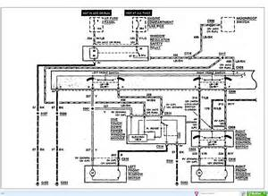 1995 Lincoln Town Car Wiring Diagram Window