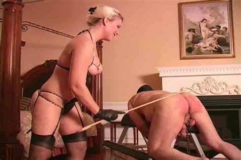 Mistress Canes The Guy And Leaves Marks Femdom Porn