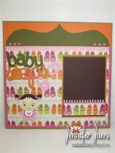 Scrapbook Layouts for Baby Steps Cricut Cartridge