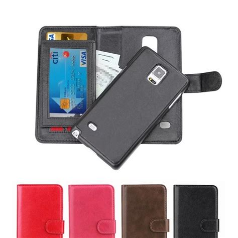 note 2 phone cases note 4 magnetic 2 in 1 removable flip leather wallet