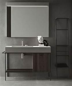 Style De Salle De Bain : 3 sc narios pour une salle de bains min rale i styles de bain ~ Teatrodelosmanantiales.com Idées de Décoration