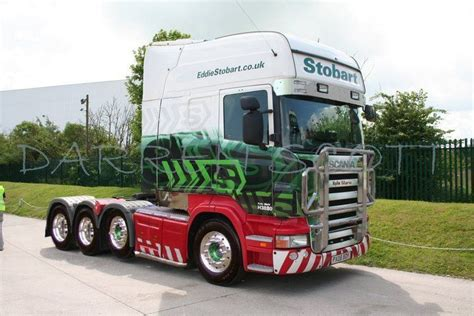 scania longline truck stobart  axles long cabover