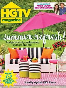 HGTV Magazine: July/August 2016 HGTV