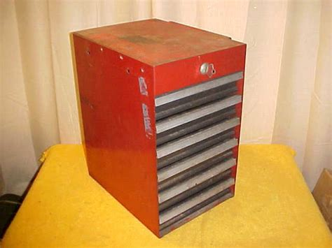 craftsman side cabinet tool box sears craftsman 6 drawer side cabinet tool box with key ebay