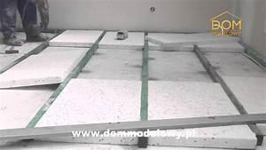 Ocieplenie stropu betonowego styropianem
