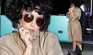 Lady Gaga talks about her at-home style... as she covers ...