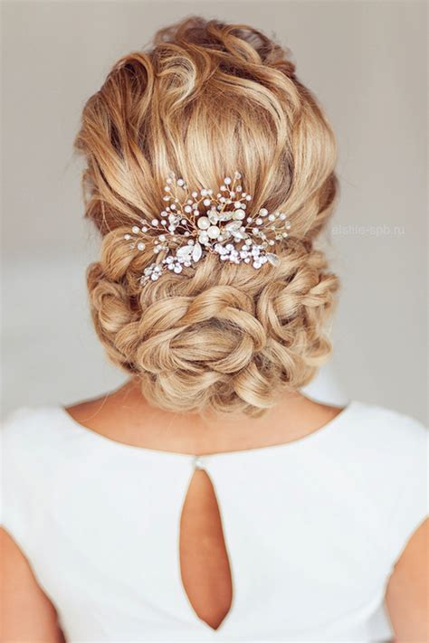 elegant wedding hairstyles  exquisite headpieces