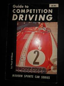 Guide To Competition Driving By Paul O U0026 39 Shea 1957 Car