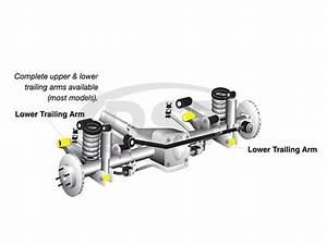 Whiteline W63436 Front Lower Control Arm Bushings