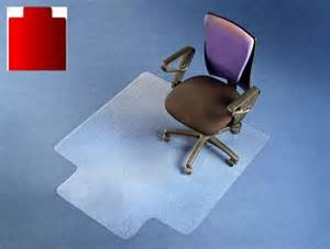 polycarbonate office chair mat lip carpet floor protector pvc plastic free ebay