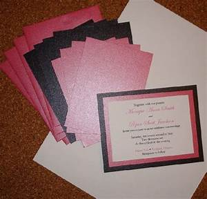 Homemade wedding invitationscherry marry cherry marry for Images of homemade wedding invitations