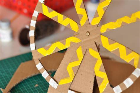 estefi machado roda gigante de papelao os brinquedos