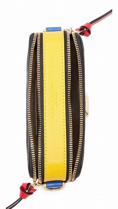 Snapshot Bag Camera Marc Jacobs Yellow Colorblock