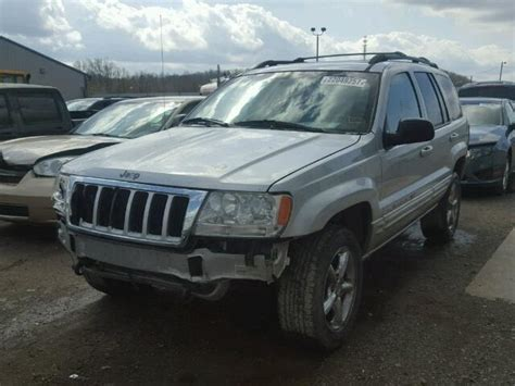 wrecked jeep grand cherokee salvage jeep grand cherokee suvs for sale and auction