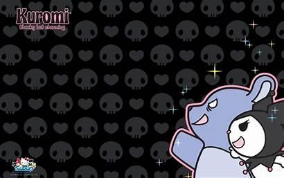 Kuromi Sanrio Kitty Hello Wallpapers Desktop Background