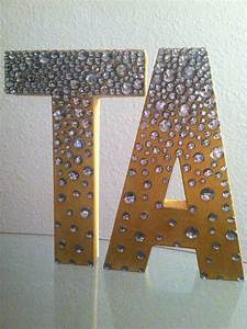 custom 3d decorative letters by funcraftsbymichelle on With custom 3d letters
