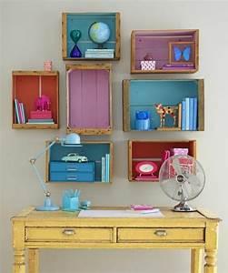 Etagere Murale Chambre Fille : etagere chambre enfant tagre meuble de rangement chambre ~ Dailycaller-alerts.com Idées de Décoration
