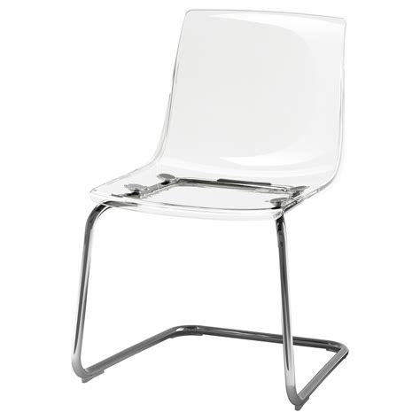 Chaise Ikea Transparente by Tobias Chair Transparent Chrome Plated Ikea
