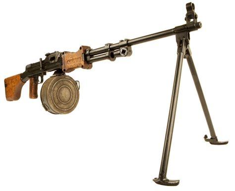Deactivated Rpk Light Machine Gun