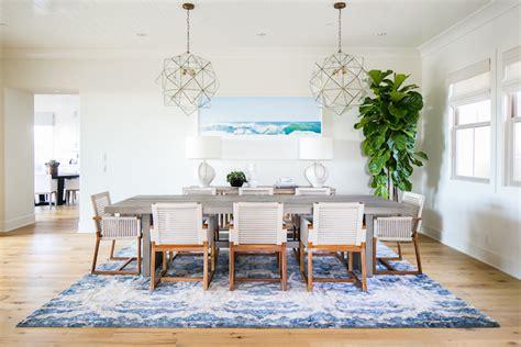 Coastal Living Dining Room Ideas by A Coastal Dining Room Designed By Becki Owens