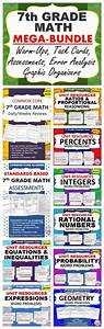 7th Grade Math Common Core Assessments  Warm