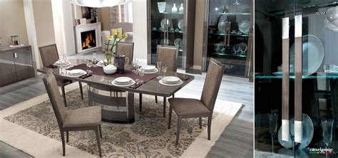 Platinum Slim Dining, Modern Formal Dining Sets, Dining