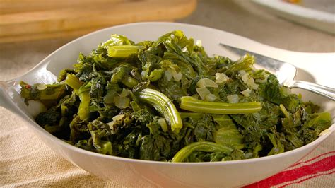 simmered mustard greens recipe martha stewart