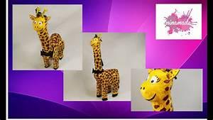 Faire Une Tirelire : diy comment faire une tirelire girafe activit pour enfants youtube ~ Nature-et-papiers.com Idées de Décoration