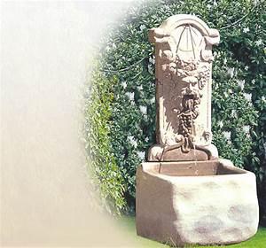 antike wandbrunnen aus stein fur den garten historische With französischer balkon mit brunnen im garten kosten