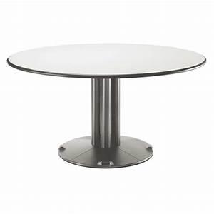 Table Ronde Avec Pied Central Galerie Avec Table Ronde Blanche Avec Pied Central Des Photos