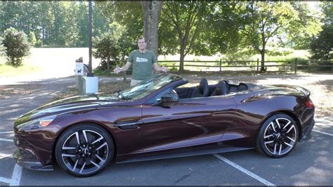 Cost Of Aston Martin Vanquish by Here S Why The 2018 Aston Martin Vanquish S Costs 350 000