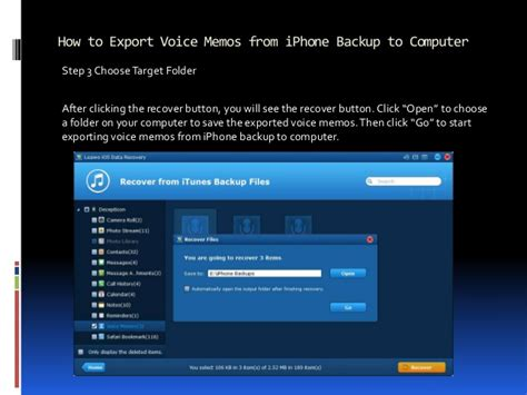 how to copy voice memos from iphone how to send out large iphone voice memos