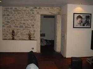 Pierre Pour Mur Intérieur : mur en pierre avec encadrement d 39 une des chambre tout en les mur interieur de l ~ Melissatoandfro.com Idées de Décoration