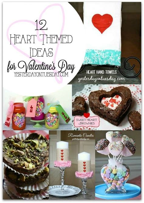 heart themed ideas  valentines day yesterday