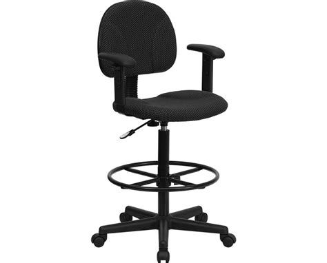 flash furniture drafting chair with arms bt 659 blk arms