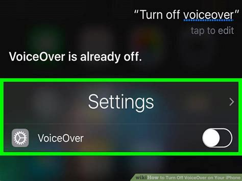 how to turn voice iphone 3 ways to turn voiceover on your iphone wikihow