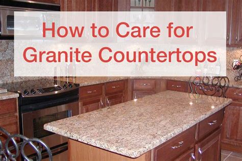 how to care for granite countertops adp surfaces orlando