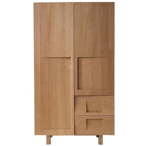 Wood Wardrobes For Sale by Workstead Wardrobe In Beech With Solid Wood Faceted Doors