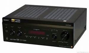 Sony Str-da3700es - Manual