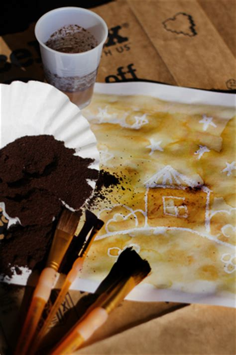 painting  coffee grounds activity educationcom