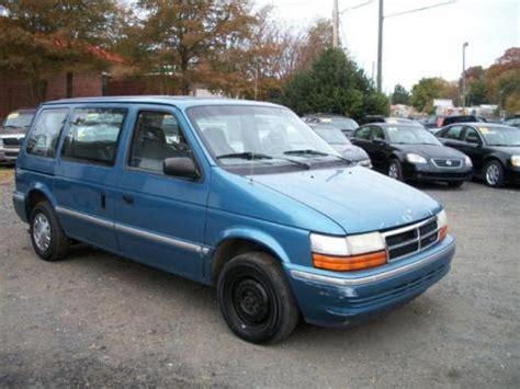 dirt cheap minivan    sc  dodge caravan