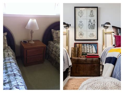 Twin Bedroom Gets An Update With A Nod To