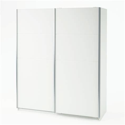 armoire 2 portes coulissantes blanc l170xp60xh203 cm aurore port offert