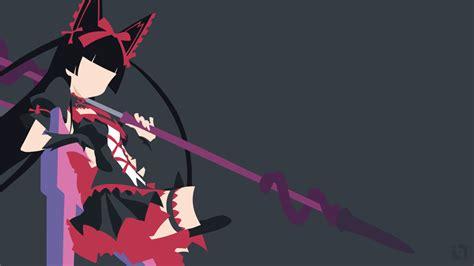 Gate Anime Wallpaper - rory mercury gate minimalist wallpaper by taufiq an on