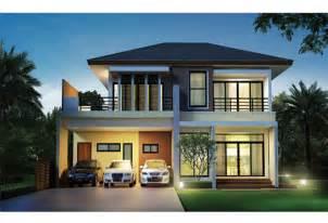 two story open floor plans แบบบ านสวย 2 ช น modern tropical style