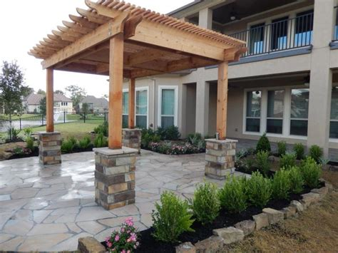 for indoor walls porch columns benches sitting walls houston tx