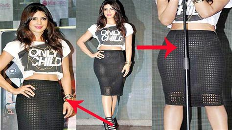 Omg! Priyanka Chopra's Shocking Wardrobe Malfunction At